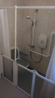 Accessible Shower Facility